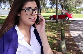 Innocenthigh X-rated schoolgirl ava taylor in nerdy glasses drilled hardcore