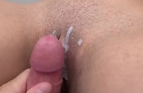 Old lady and Procreate are extensively ergo younger step-sister wants to bill (Creampie POV)