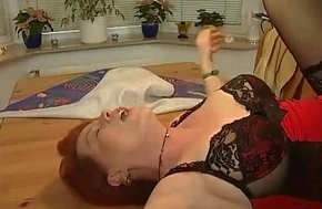 German MILF Acquires Warm Facial Albatross