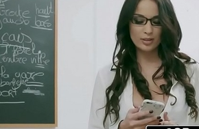 Naughty French Tutor Anissa Kate Loves Anal