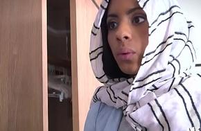 Dongs get jerked by an arab slut