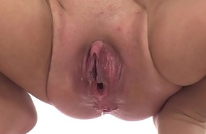 Nylon imperceivable Teen uses a vibrator on her holes