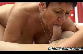 Grandma receives gnaw
