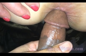 Quick Anal be advantageous to a Sexy Swinger Tie the knot