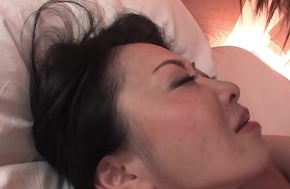 Hairy Japanese chick with big tits pussy drilled preacher exhibit