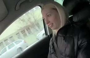 Czech Sexy Teen Amateur Get Fucked FOr Cash In Public 23