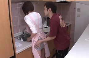 Maid property fucked hard by the diggings proprietor
