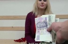 Public Pickups XXX - Teen Euro Whore Drag inflate Dick Be worthwhile for Money 05