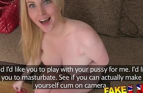 Fakeagentuk prexy sexy eyed scottish girl receives creampie upon performance discard