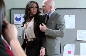 (stephani moretti) Sexy Busty Office Widely applicable Bourgeon Hardcore Style video-30